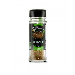 CORIANDRE MOULUE 25G BIO
