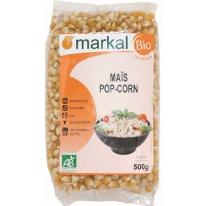 MAIS POP CORN 500G MARKAL FRANCE BIO