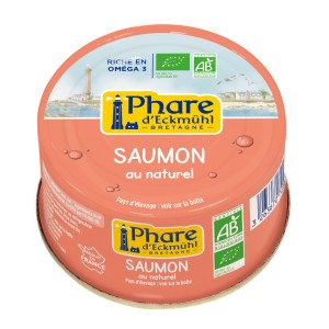 SAUMON BIO AU NATUREL 132G BIO