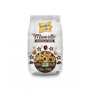 MUESLI CHOCOLAT NOIR 500G BIO