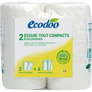 ESSUIE-TOUT COMPACT 2 ROULEAUX 100% RECYCLE BIO
