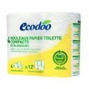 PAPIER TOILETTE COMPACT 4 ROULEAUX/RECYCLÉ*