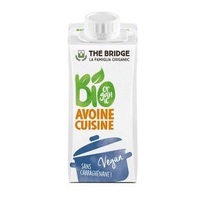 CREME AVOINE CUISINE 20CL THE BRIDGE BIO