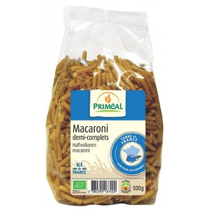 MACARONI 1/2 COMPLET 500G FILIERE FRANCE BIO