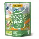 SOUPE POIS CASSES 50CL DANIVAL BIO
