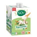 CREME SOYA CUISINE 50CL ECO SOJA FRANCAIS SANS OGM BIO