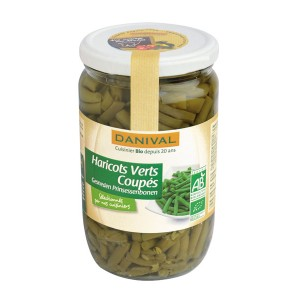 HARICOTS VERTS COUPES 675G BIO