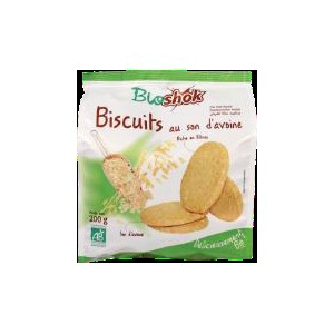 BISCUIT SON D'AVOINE 200G BIO