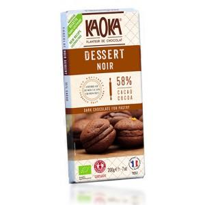 CHOCOLAT NOIR DESSERT/58% CAC.200G EQUITABLE BIO