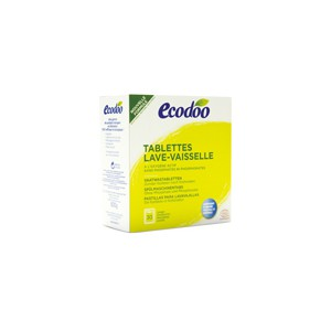 LAVE VAISSELLE 30 TABLETTES ECODOO BIO