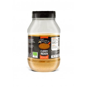 CURRY INDIEN 400G POT PET BIO