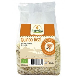 QUINOA REAL BLANC 250G 1ER CHOIX BOLIVIE BIO