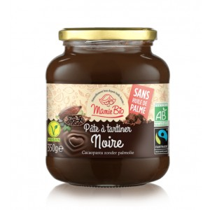 PATE A TARTINER NOIRE EQUITABLE 350G BIO