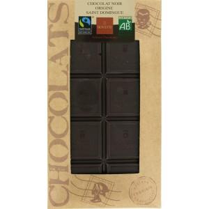 S.CHOCOLAT NOIR NATURE 100G BIO