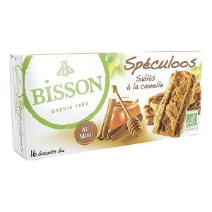 SPECULOOS 175G CANNELLE/MIEL BISSON BIO
