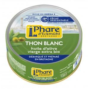 THON BLANC GERMON*  HUILE OLIVE BIO CERTIFIE MSC 160G