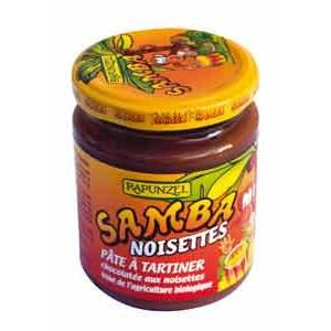 SAMBA 250G A TARTINER CHOC.NOIS45% BIO