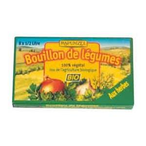 BOUILLON CUBE HERBES 8X 1/2L BIO