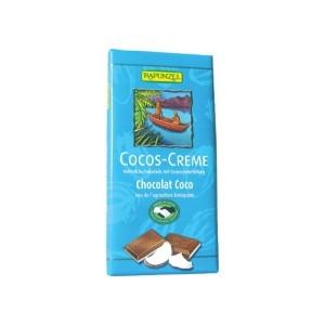 CHOCOLAT LAIT FOURRÉ COCO 100G MDM BIO