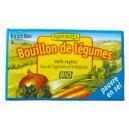 BOUILLON CUBE PAUVRE EN SEL 8X 1/2L BIO