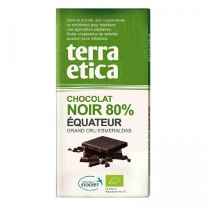 CHOCOLAT NOIR 80% EQUATEUR 100G BIO