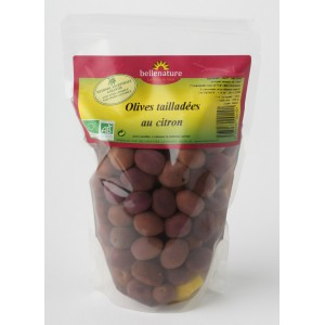 DLUO AVRIL 2019 A.OLIVES SACHET VERTES TAILLADEES AU CITRON 500G BIO