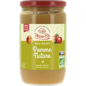 PUREE POMME FRANCE 680 GRS BIO