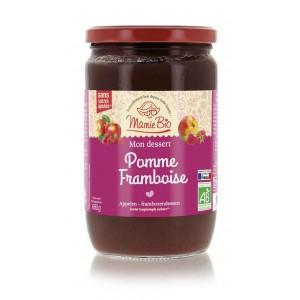 PUREE POMME FRAMBOISE 680 GRS BIO