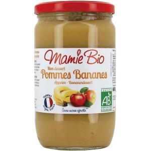 PUREE POMME BANANE 680 GRS BIO