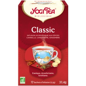 YOGI TEA CLASSIC 17 SACHETS BIO