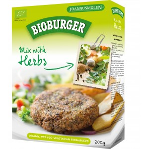 BIOBURGER HERBES 200G PREPARATION GALETTES BIO