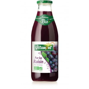 JUS RAISIN ROUGE 1L BIO