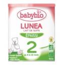 LAIT BABYBIO LUNEA 2 DES 6 MOIS 900G BIO