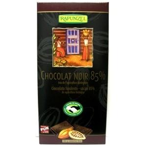 CHOCOLAT NOIR 85% 80G SUISSE BIO