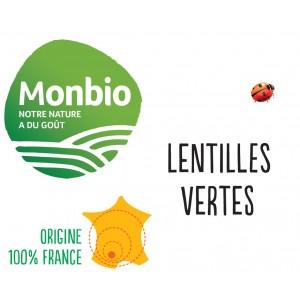 LENTILLES VERTES MONBIO AB 5KG BIO