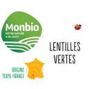 LENTILLES VERTES MONBIO AB 25KG BIO