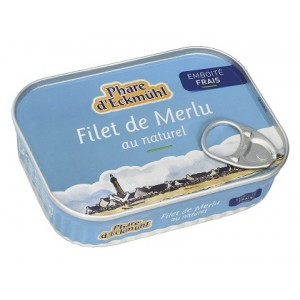 FILETS DE MERLU AU NATUREL 150G*