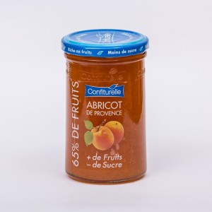 DLUO FEVRIER 2019 A.SPECIALITE BIOLOGIQUE 65% FRUIT 300 G ABRICOT - 65% DE FRUITS BIO