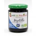 SPECIALITE BIOLOGIQUE 65% FRUIT 300 G MYRTILLE - 65% DE FRUITS BIO