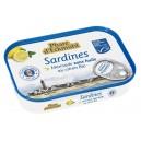 SARDINE MARINADE CITRON SANS HUILE MOINS DE SEL* 115G