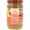 PUREE POMME FRANCE COING 680G BIO