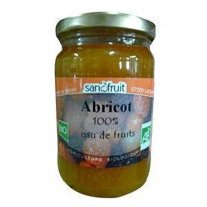 PUREE ABRICOT 320G DE PROVENCE SANOFRUIT BIO