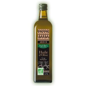 HUILE OLIVE GRECE 75CL CRETE BIO