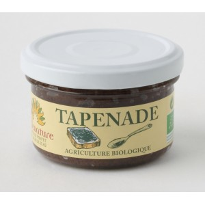 TAPENADE OLIVES NOIRES 90G BELLE NATURE BIO