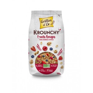 KROUNCHY FRUITS ROUGES 500G BIO
