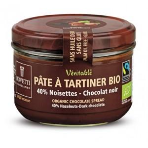 PATE A TARTINER NOISETTES CHOC.NOIR 200G BIO