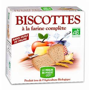 BISCOTTES COMPLETES 270G SANS H.PALME BIO