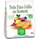 PETIT PAIN GRILLE FROMENT 225G SANS H.PALME BIO
