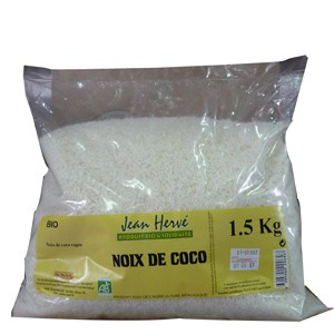 NOIX COCO RAPEE 1.5KG LE SAC BIO