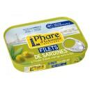 FILETS DE SARDINES* HUILE OLIVE BIO 100G